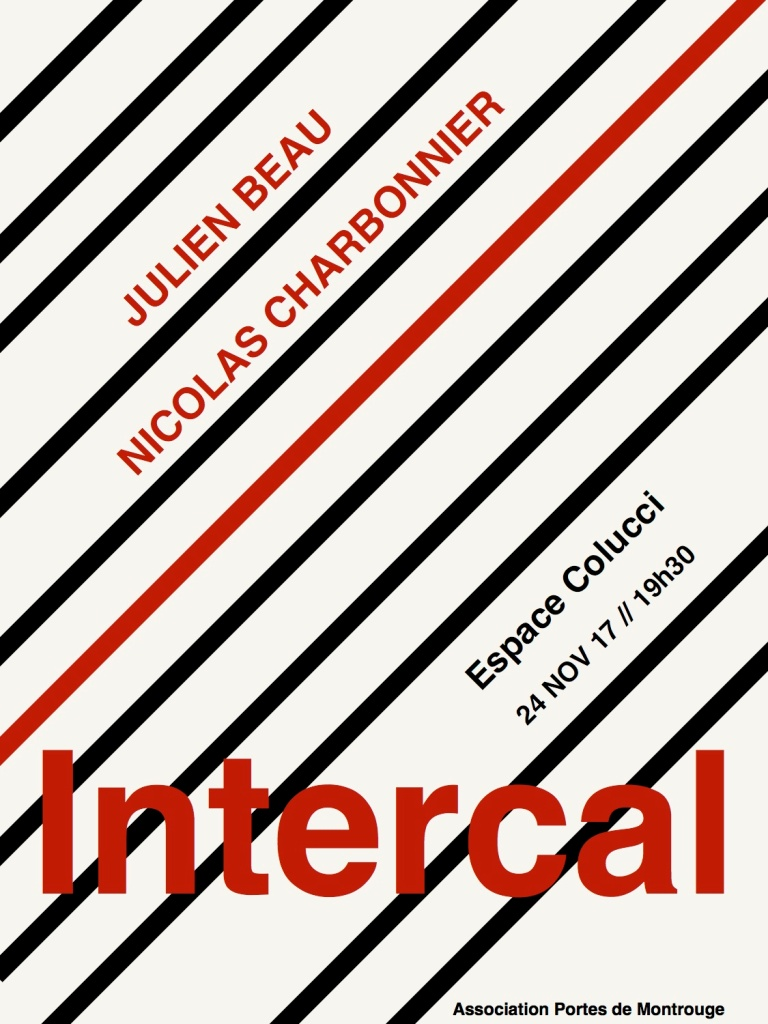Visuel intercal Nov